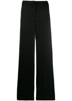 Off-White logo jacquard trousers
