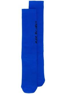 Off-White logo knit socks