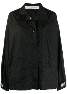 Off-White logo patch track jacket