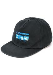 Off-White logo print cap