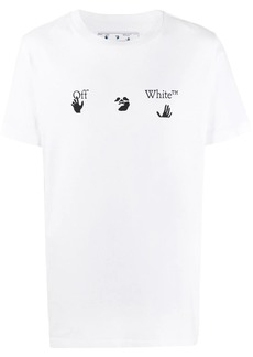 Off-White logo-print crew-neck T-shirt