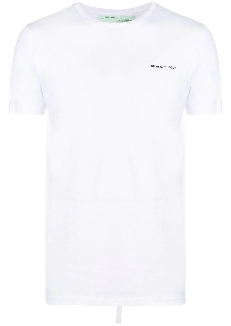 Off-White logo slim fit T-shirt