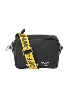 Off-White Logo Strap Nylon Crossbody Bag
