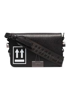Off-White mini arrow-logo shoulder bag
