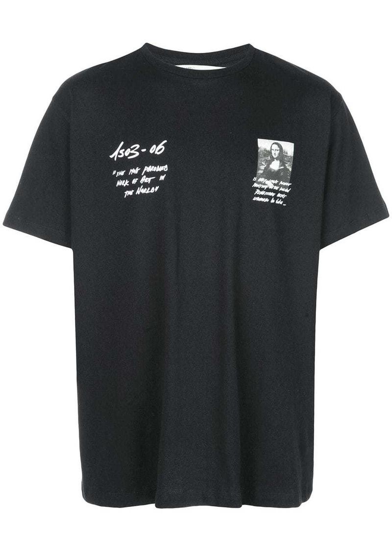 Off-White Monalisa print T-shirt