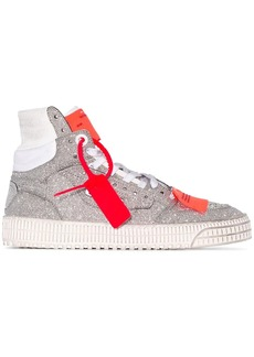 Off-White Off Court glitter sneakers
