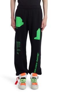 Off-White Arch Shapes Slim Sweatpants