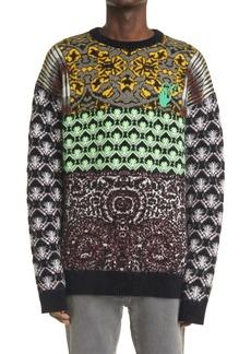 Off-White Arrow Jacquard Sweater