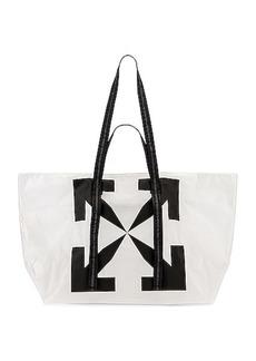 OFF-WHITE Arrow PVC Tote Bag