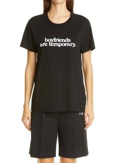 Off-White Boyfriends Are Temporary Graphic Cotton Tee