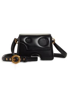 Off-White Burrow 22 Leather Shoulder Bag - Black