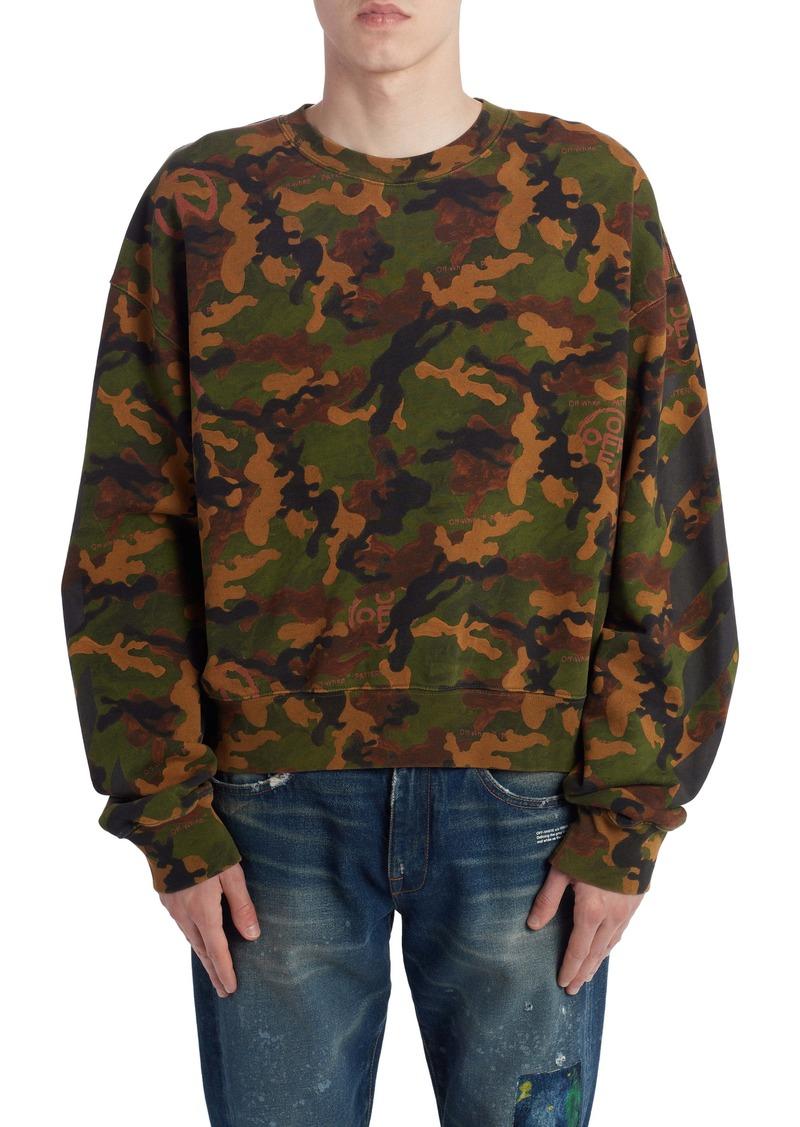 Off-White Camouflage Sweatshirt