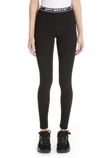 Off-White Cannette Simple Logo Leggings