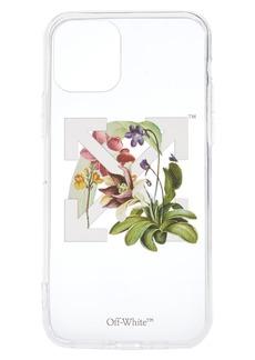 Off-White Carnivore Plant Transparent Iphone 11 Pro Phone Case - White