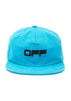 Off-White c/o Virgil Abloh Embroidered Cotton-Twill Baseball Cap