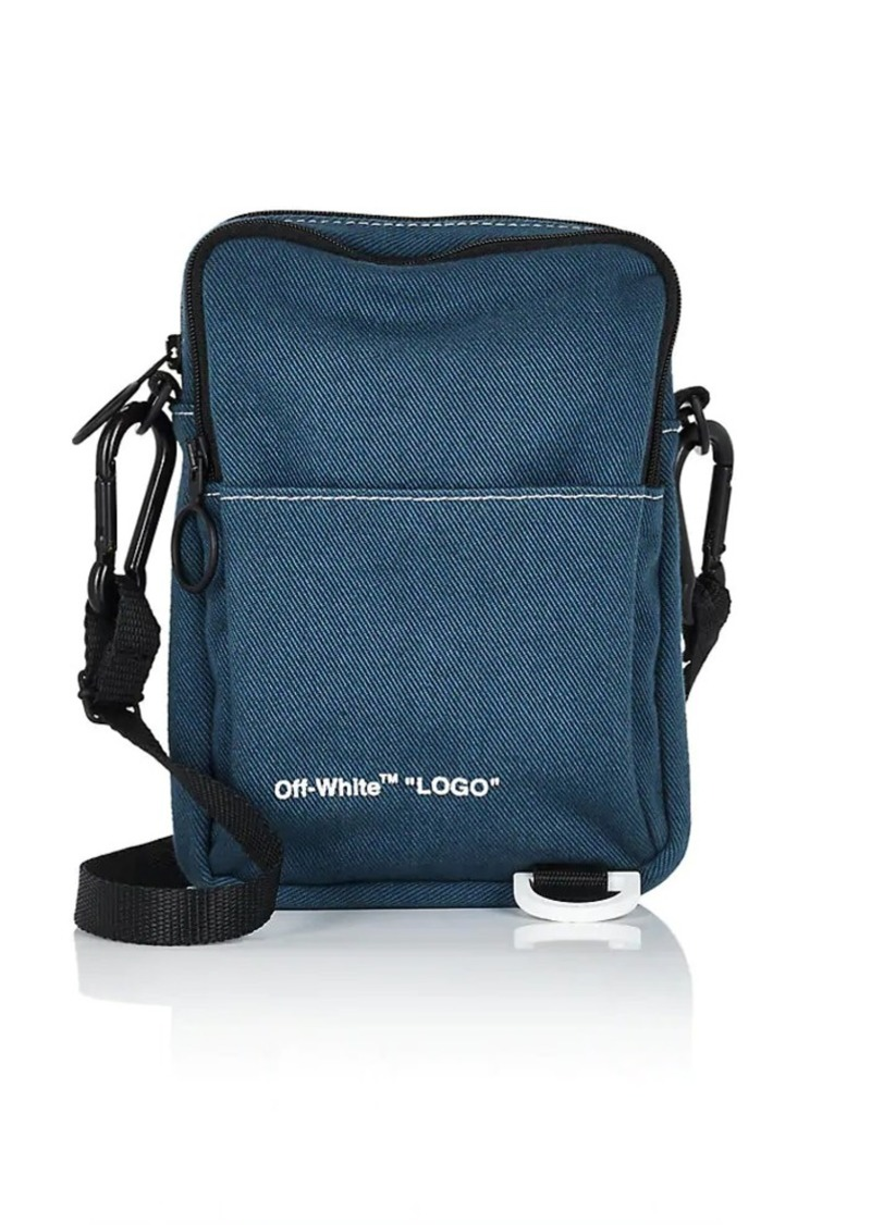 135f2a43f5e3e Off-White Off-White c/o Virgil Abloh Men's Denim Camera Bag - Blue ...