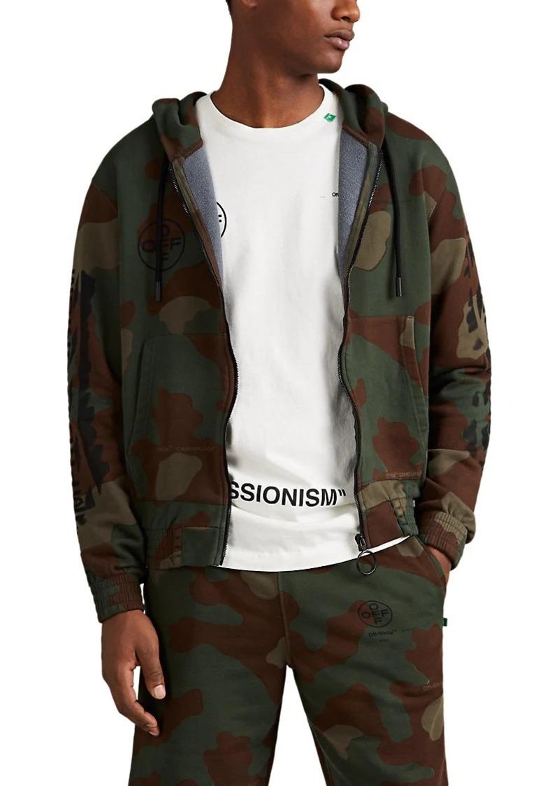 5bb717cff681 Off-White Off-White c o Virgil Abloh Men s Logo Camouflage Cotton ...