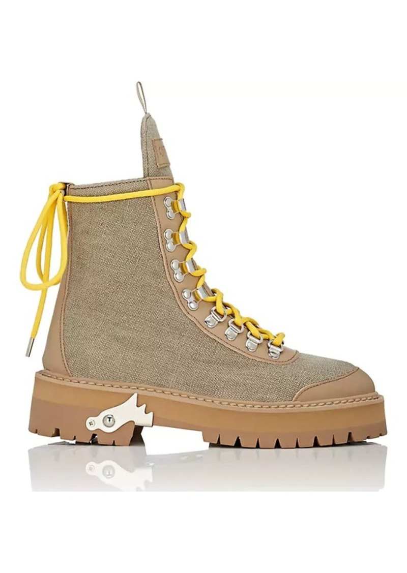7f6e42052 Off-White Off-White c/o Virgil Abloh Women's Canvas & Leather Hiking ...