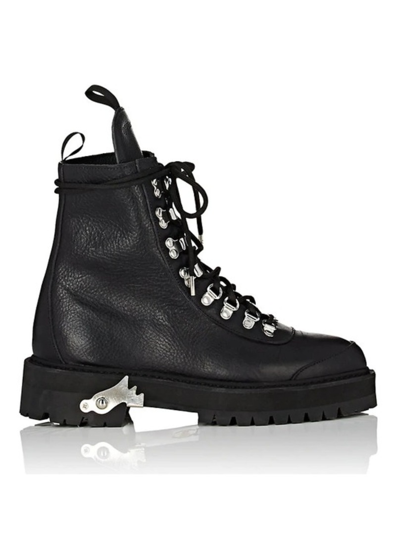 4ab9a2fdc0a c/o Virgil Abloh Women's Leather Hiking Boots