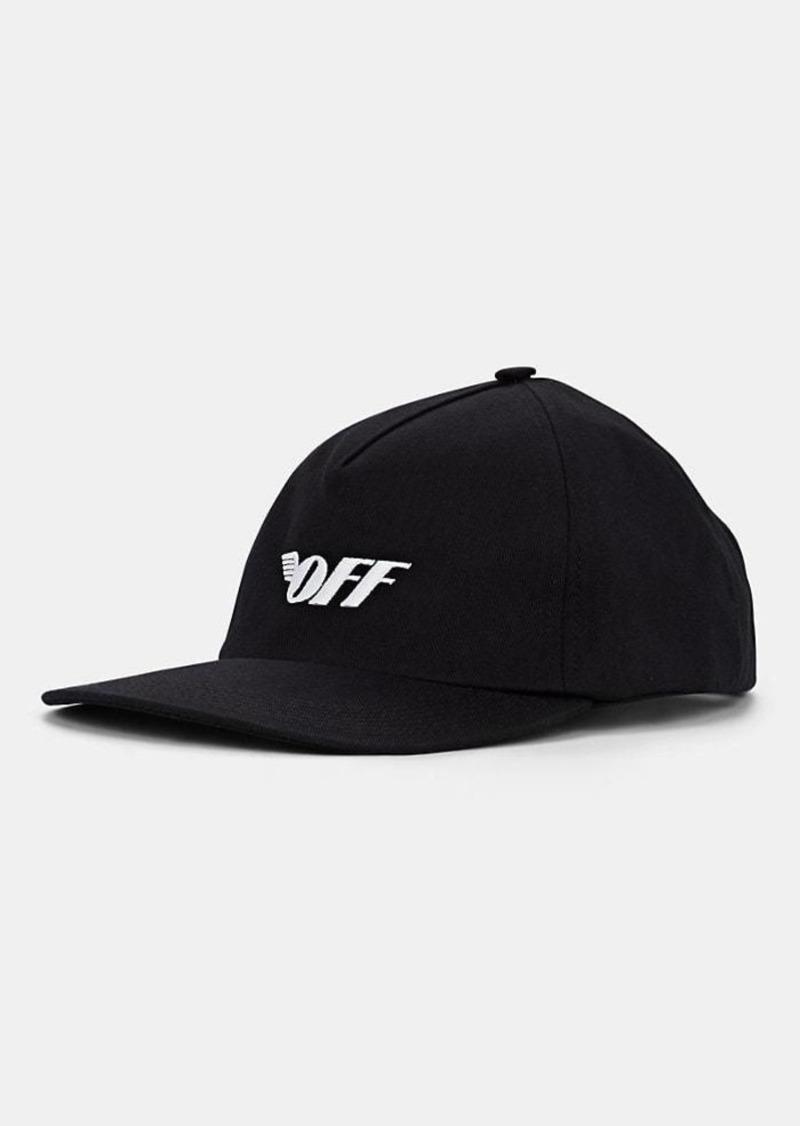 43448a1a912a99 Off-White c/o Virgil Abloh Women's Logo-Embroidered Cotton Twill Baseball  Cap