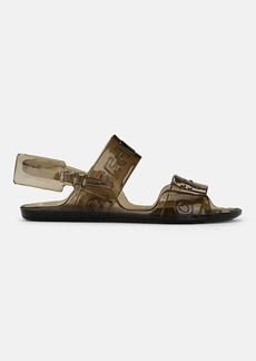 Off-White c/o Virgil Abloh Women's Logo Rubber Jelly Sandals