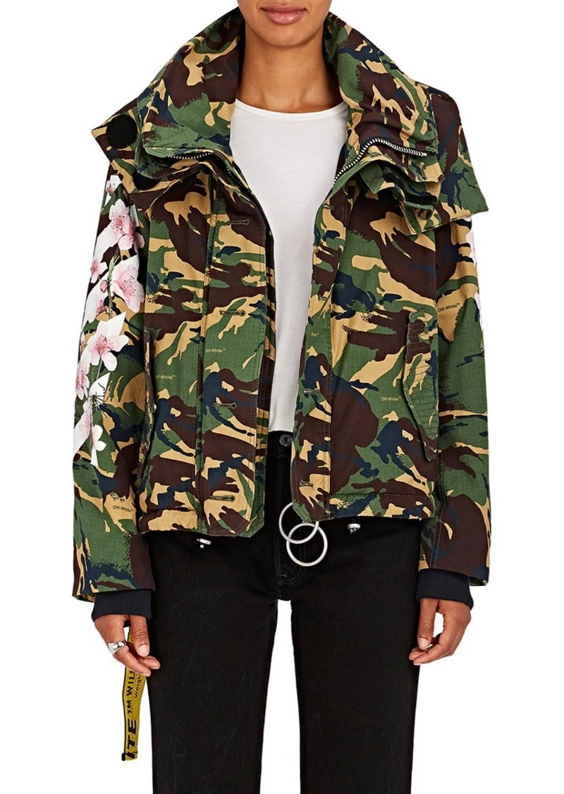 787c46a7942f2 Off-White Off-White c/o Virgil Abloh Women's M65 Floral Camouflage ...