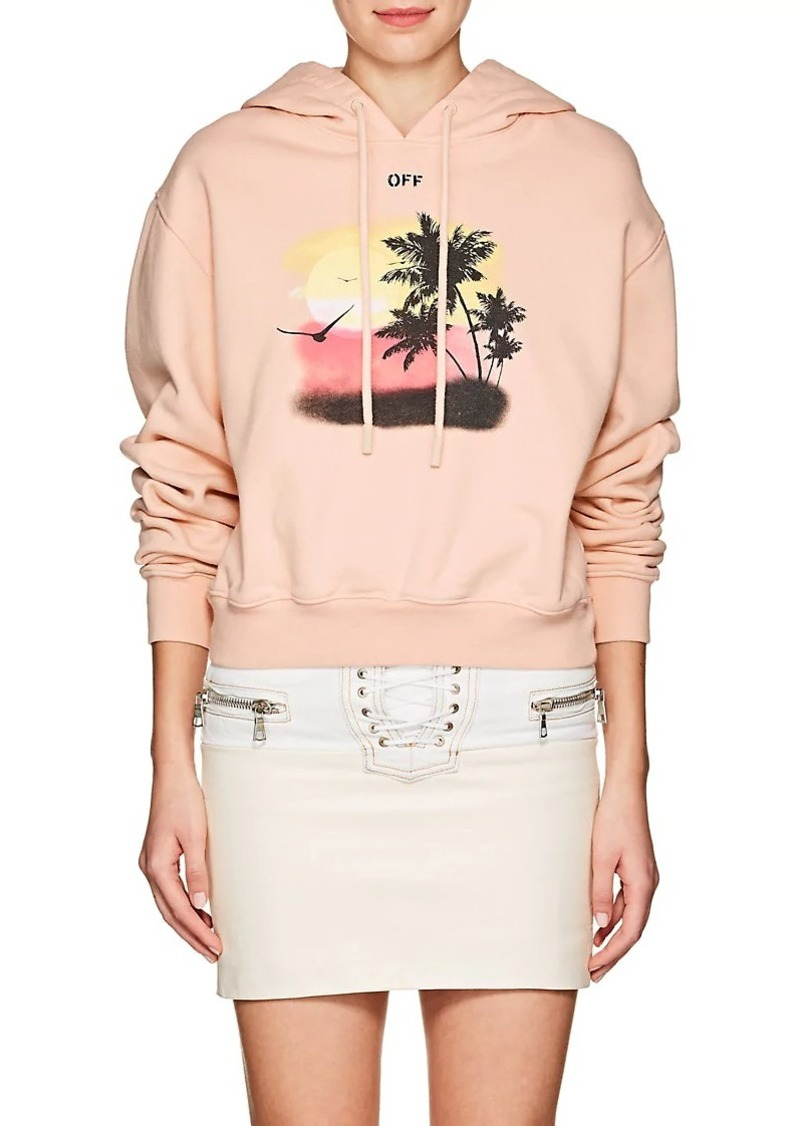 5a62df5762 Off-White Off-White c o Virgil Abloh Women s Sunset-Graphic Cotton ...