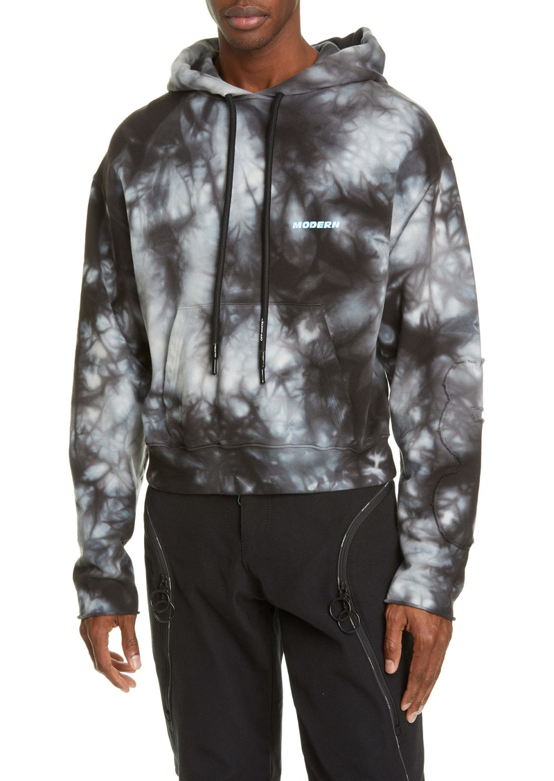 Off-White Contour Tie Dye Hoodie