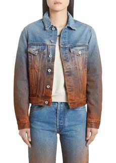 Off-White Degrade Denim Jacket
