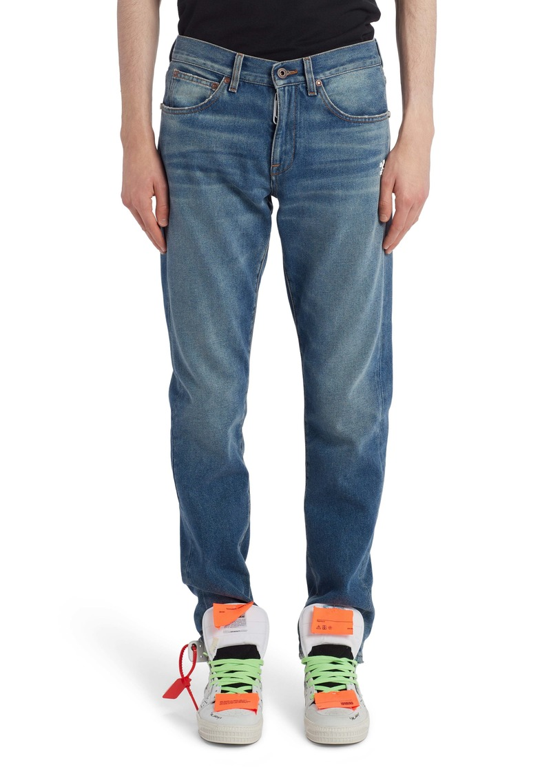 Off-White Diag Slim Fit Jeans