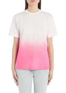 Off-White Dip Dye Cotton T-Shirt