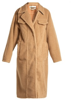 Off-White Faux-shearling coat