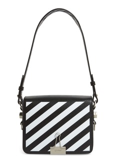 Off-White Flap Square Shoulder Bag