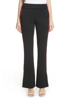 Off-White Flare Leg Track Pants