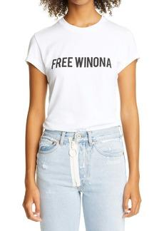 Off-White Free Winona Graphic Cotton Tee