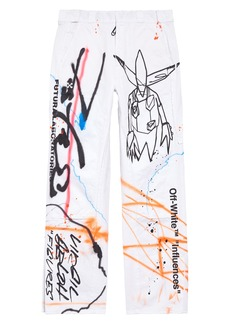 Off-White Futura Rainbow Carpenter Pants
