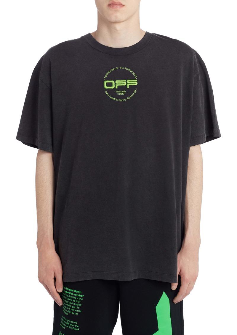 Off-White Hand Logo Short Sleeve T-Shirt
