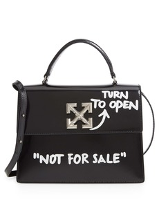 Off-White Jitney 2.8 Turn to Open Leather Bag