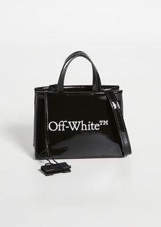 Off-White Leather Baby Box Bag