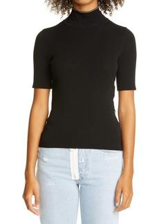 Off-White Logo Jacquard Turtleneck Sweater