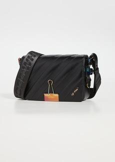 Off-White Matelasse Mini Flap Bag