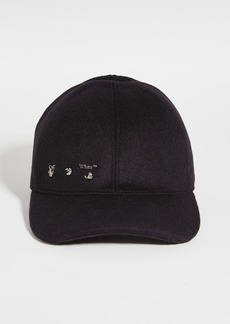Off-White Metallic Baseball Cap