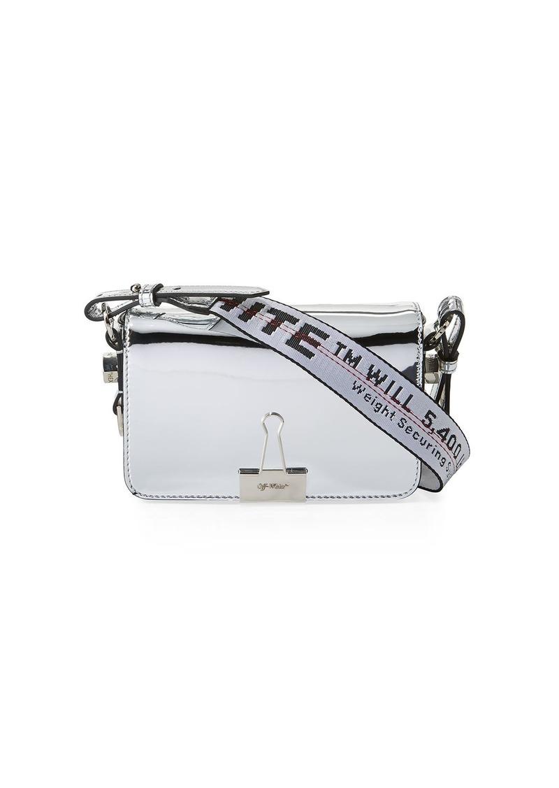 b5c5ede55ac6 Off-White Mirror Mini Flap Crossbody Bag