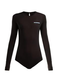 Off-White Modern stretch-jersey bodysuit