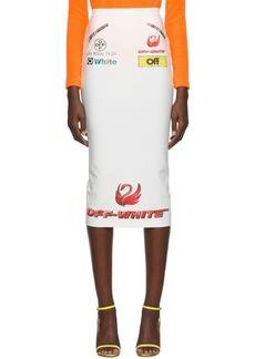 Off-White Multi-Logo Sporty Skirt