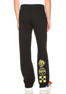 OFF-WHITE Multi Symbols Sweatpant