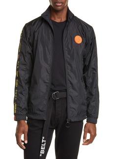 Off-White Nylon Track Jacket