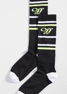 Off-White Off White Long Socks