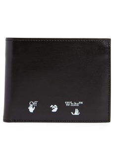 Off-White Shadow Logo Bifold Leather Wallet