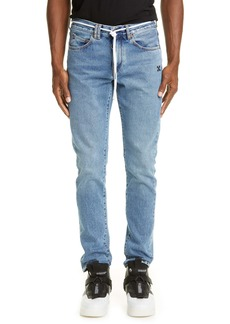 Off-White Slim Fit Jeans